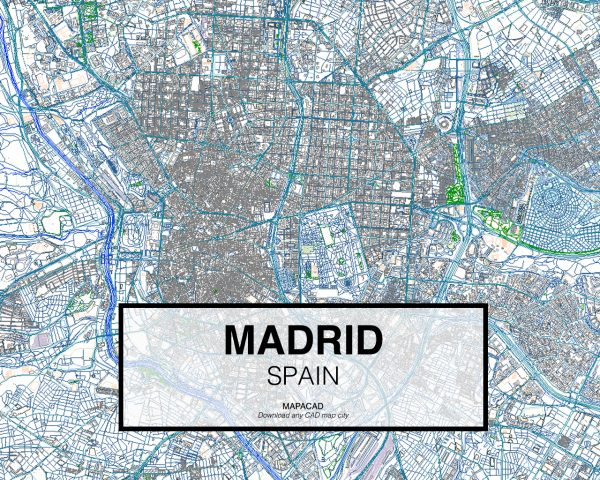 Madrid-Spain-01-Mapacad-download-map-cad-dwg-dxf-autocad-free-2d-3d