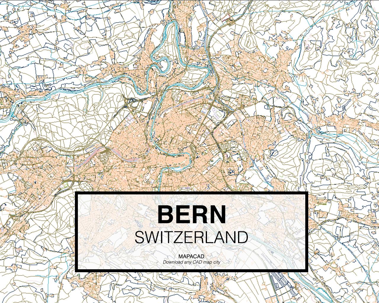 Download bern dwg mapacad bern switzerland 01 mapacad download map cad dwg gumiabroncs Image collections