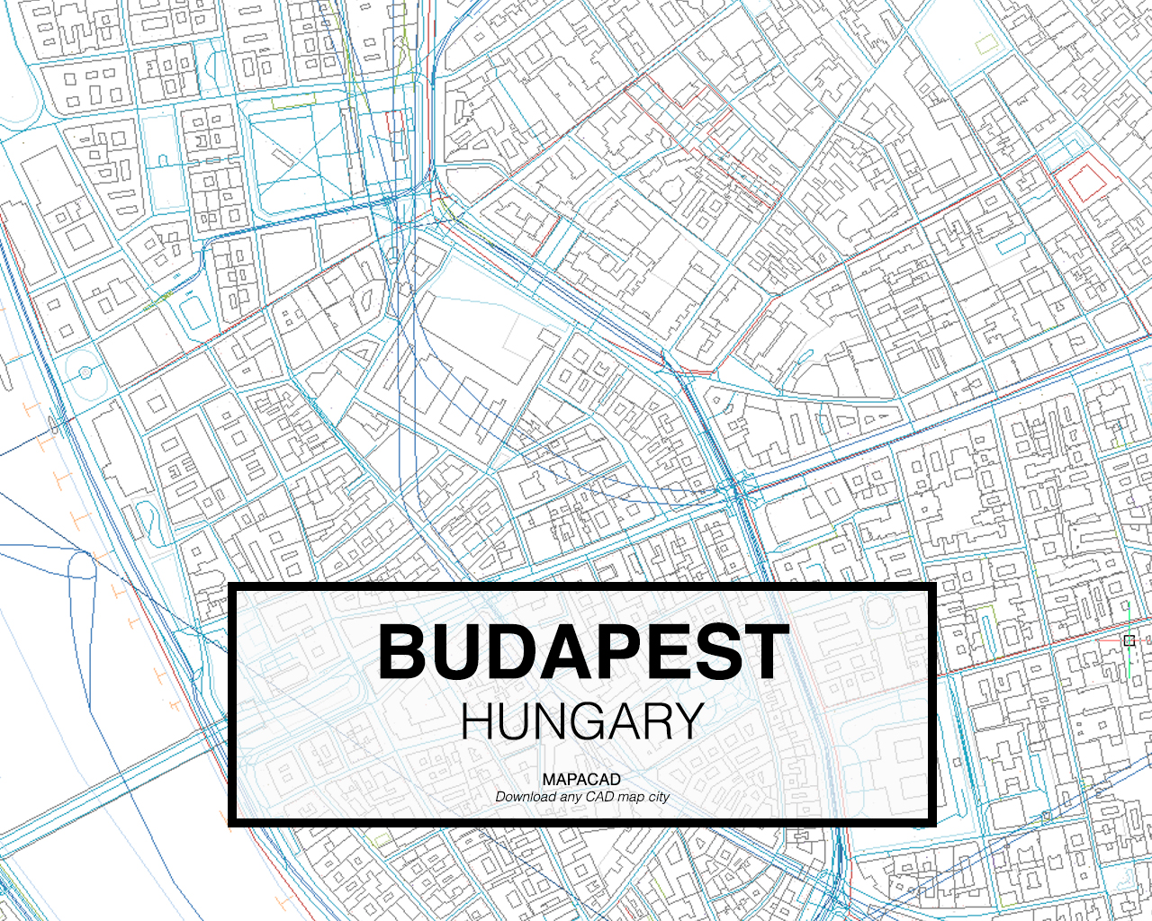 Budapest dwg mapacad for Map designer free