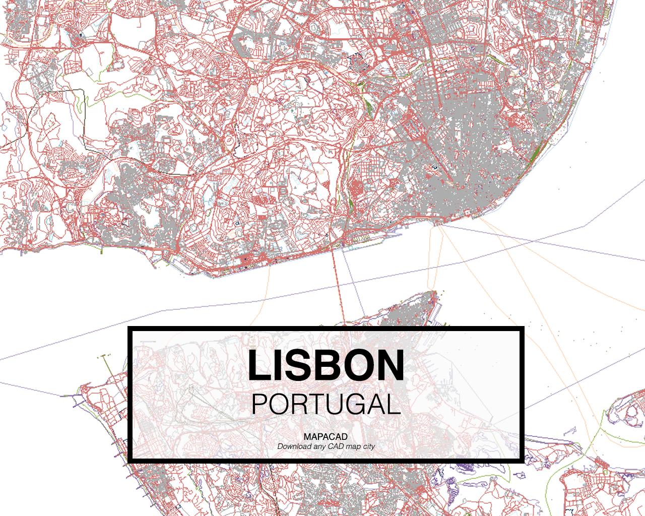 mapa portugal dwg Download Porto DWG   Mapacad mapa portugal dwg