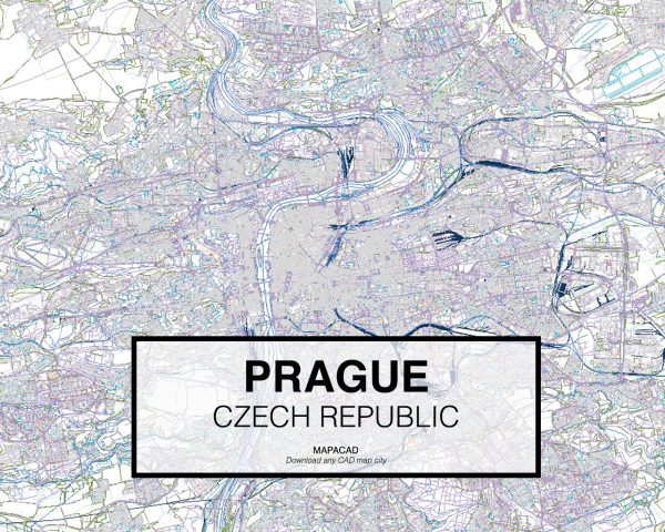 Prague-Czech-Republic-01-Mapacad-download-map-cad-dwg-dxf-autocad-free-2d-3d