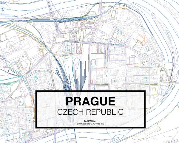 Prague-Czech-Republic-03-Mapacad-download-map-cad-dwg-dxf-autocad-free-2d-3d