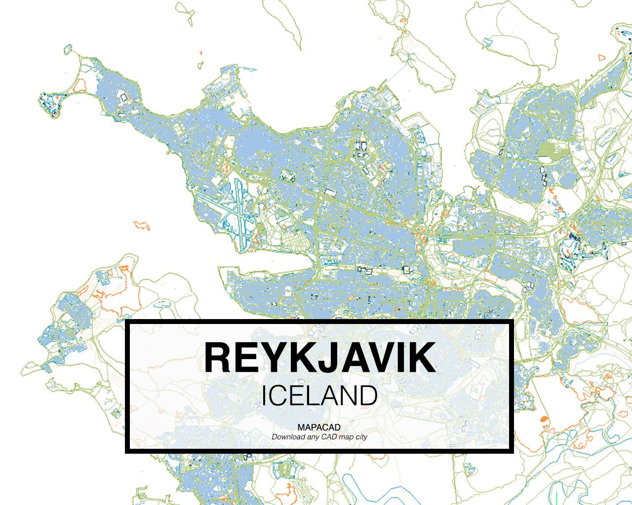Reykjavik dwg mapacad gumiabroncs Image collections