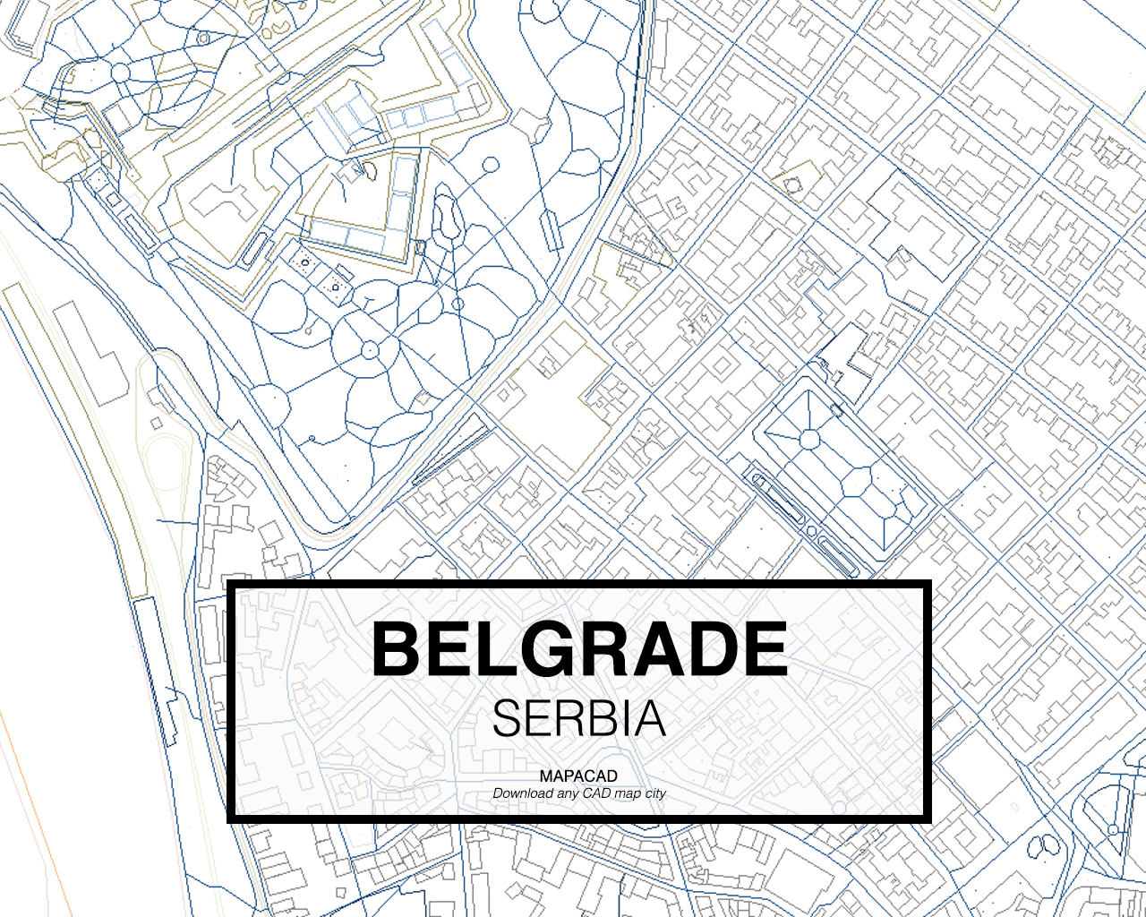 Belgrade Dwg Mapacad