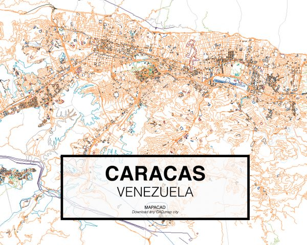 Caracas-Venezuela-01-Mapacad-download-map-cad-dwg-dxf-autocad-free-2d-3d