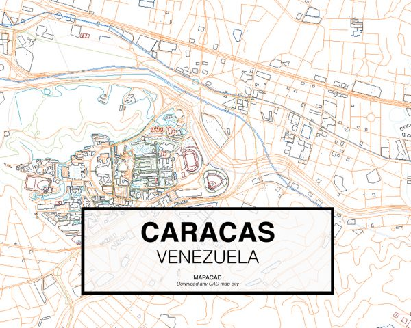 Caracas-Venezuela-02-Mapacad-download-map-cad-dwg-dxf-autocad-free-2d-3d