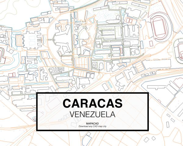 Caracas-Venezuela-03-Mapacad-download-map-cad-dwg-dxf-autocad-free-2d-3d