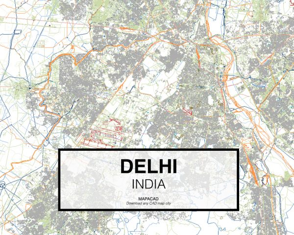 Delhi-India-01-Mapacad-download-map-cad-dwg-dxf-autocad-free-2d-3d