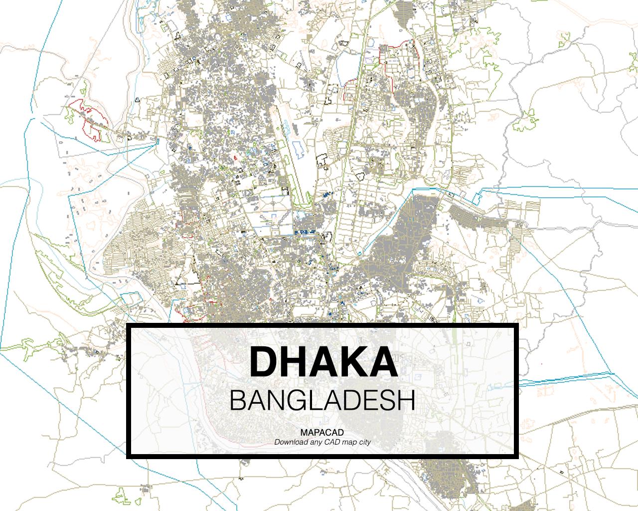 Download Dhaka DWG - Mapacad