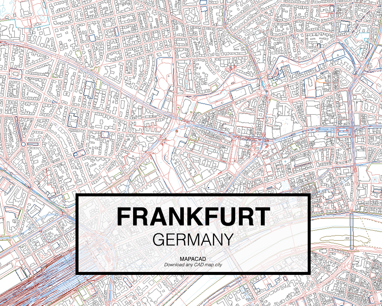 Frankfurt Dwg Mapacad