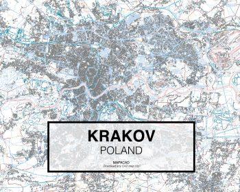 Krakov-Poland-01-Mapacad-download-map-cad-dwg-dxf-autocad-free-2d-3d