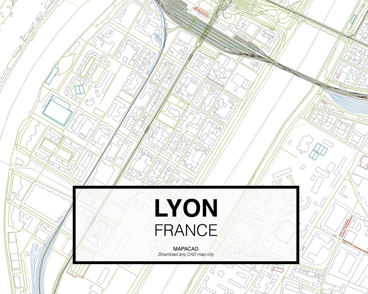 Lyon Dwg Mapacad