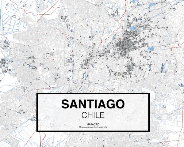Santiago-Chile-01-Mapacad-download-map-cad-dwg-dxf-autocad-free-2d-3d