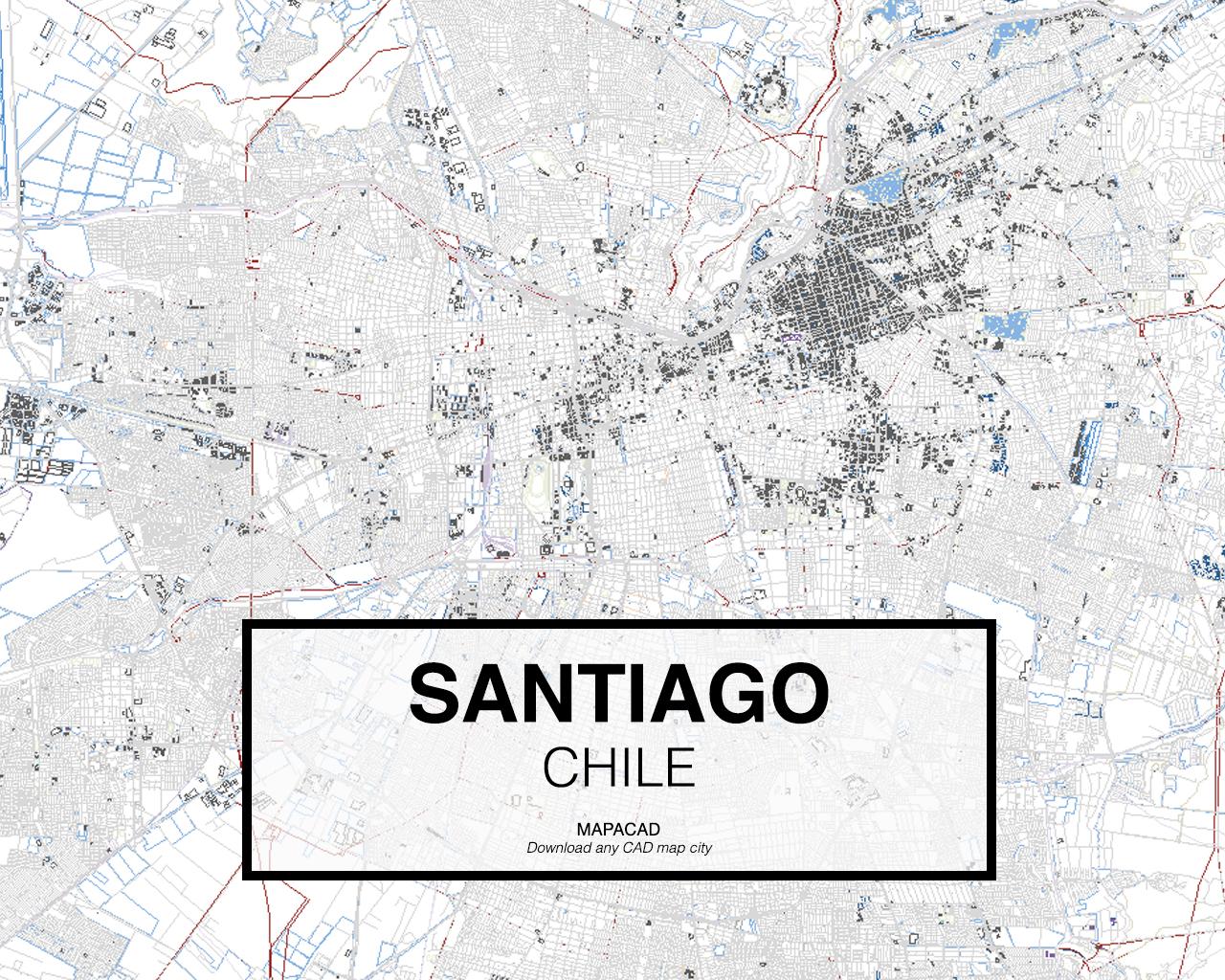 Santiago dwg mapacad for Marmolerias en santiago de chile