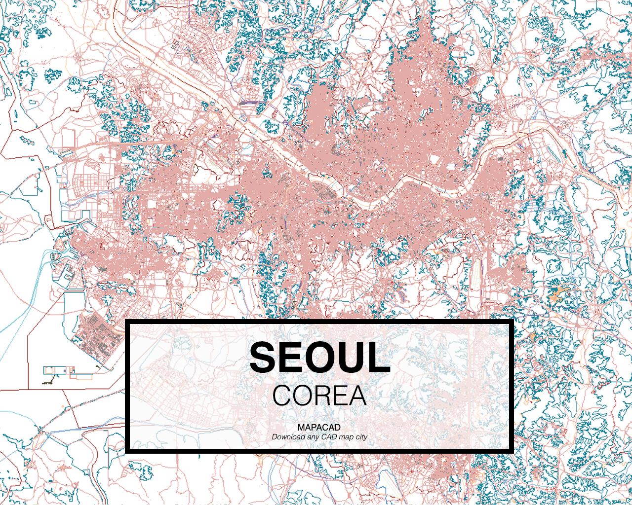 Seoul Dwg Mapacad
