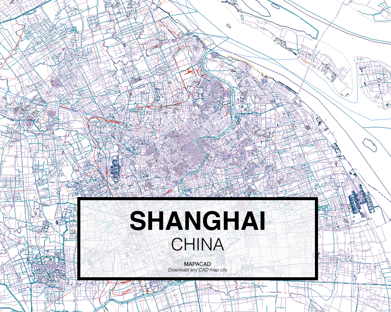 Shanghai dwg mapacad shanghai china 01 mapacad download map cad dwg gumiabroncs Images