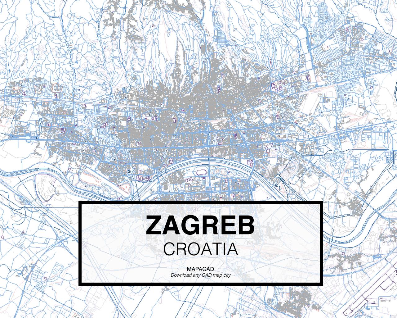 Zagreb Dwg Mapacad