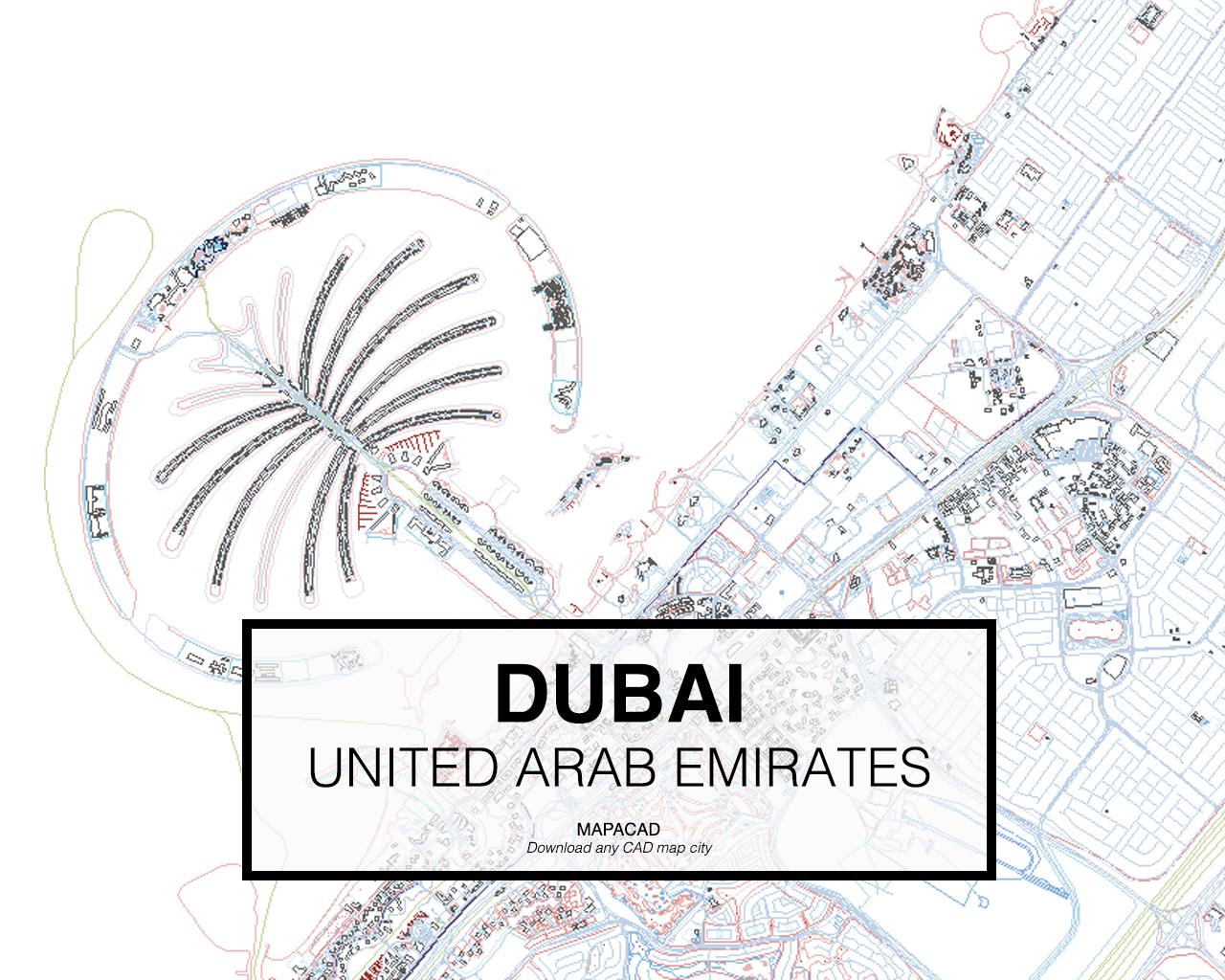 Download Dubai DWG - Mapacad