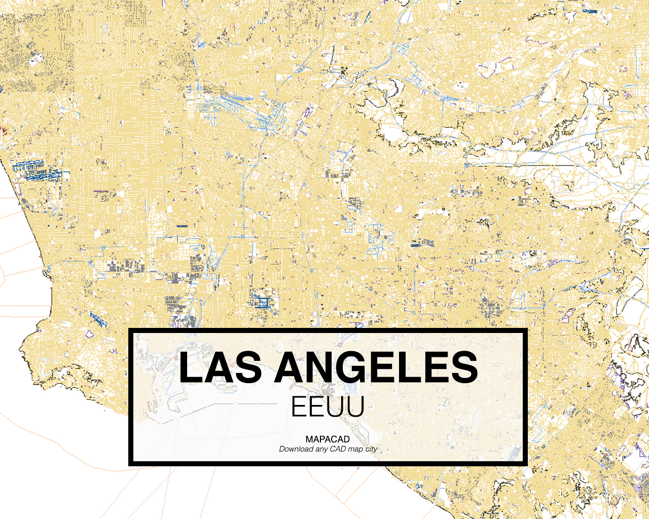 Download Los Angeles DWG - Mapacad on