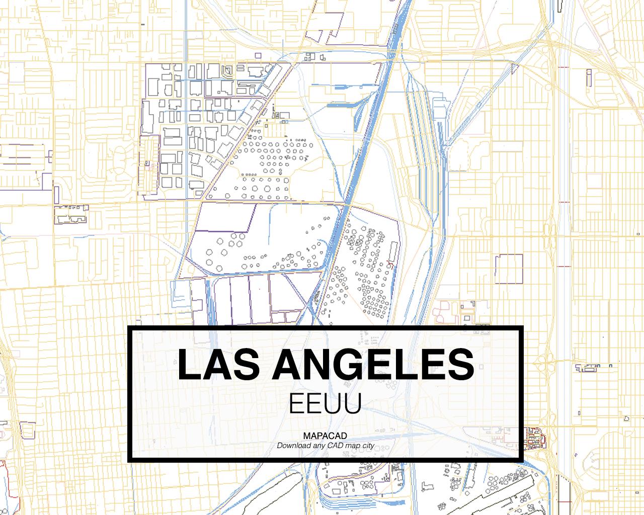 Download Los Angeles DWG - Mapacad