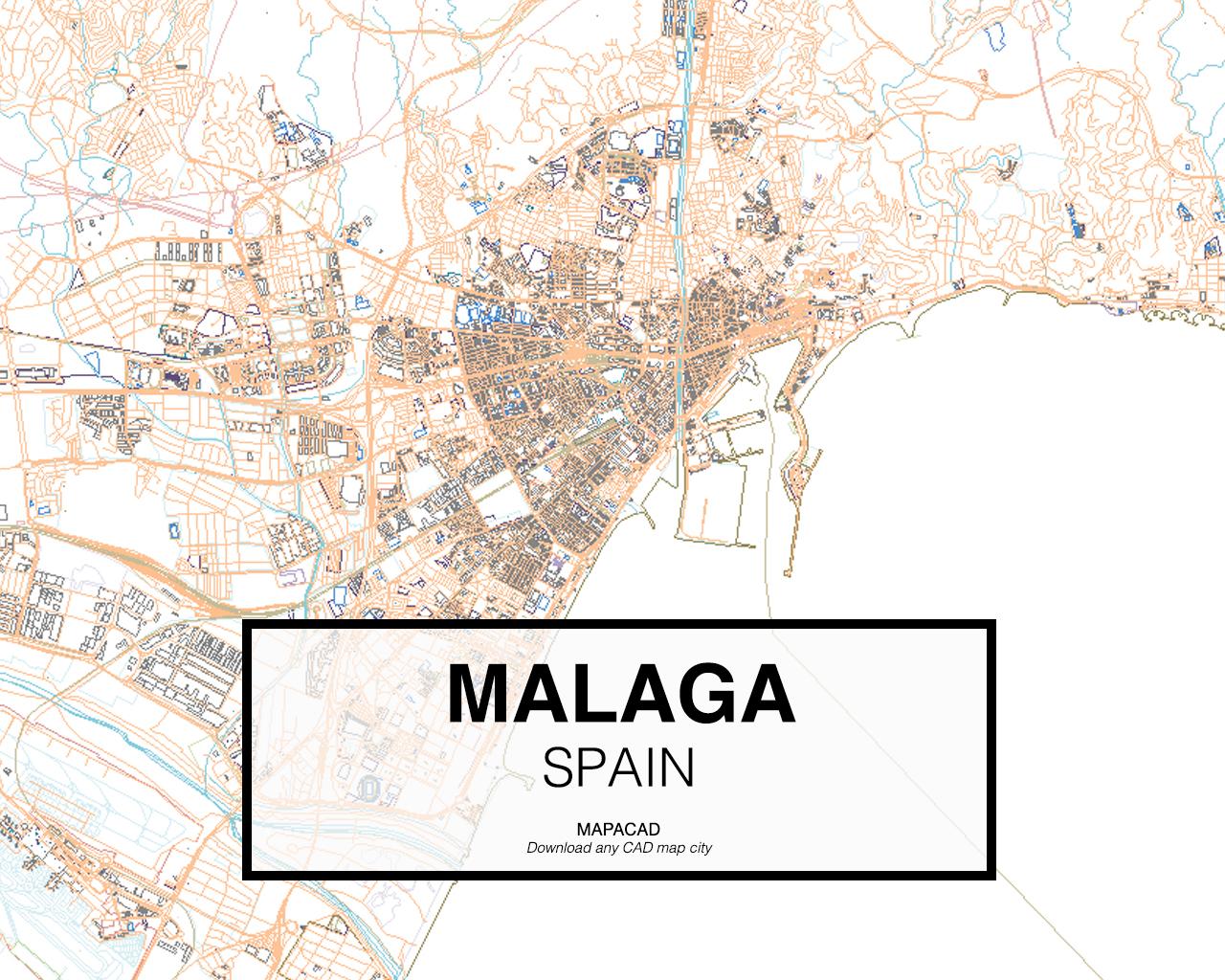 Download Malaga Dwg Mapacad