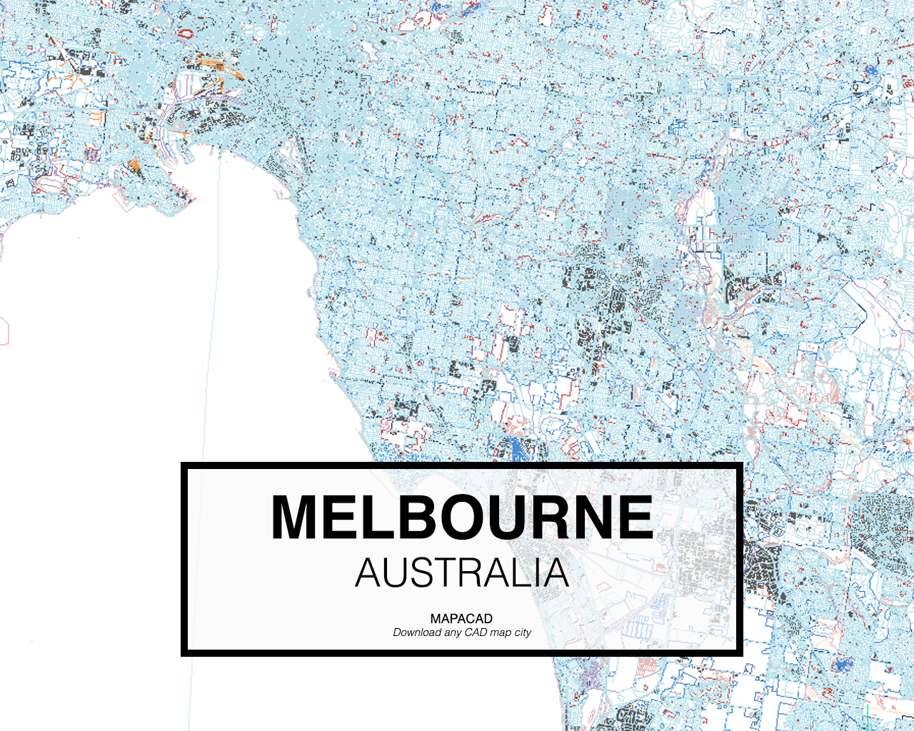 Download Map Of Australia.Melbourne