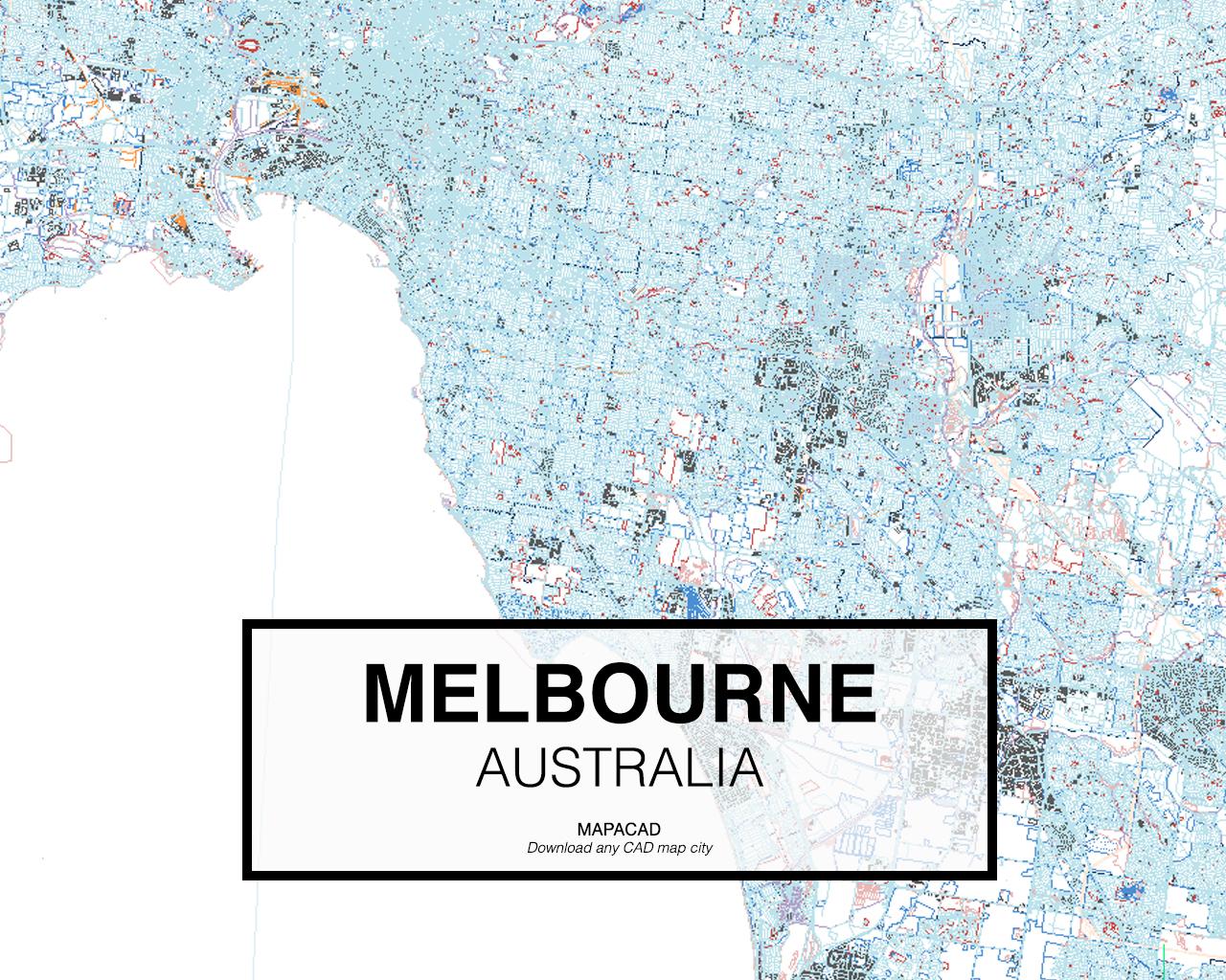 Australia Map Melbourne.Melbourne