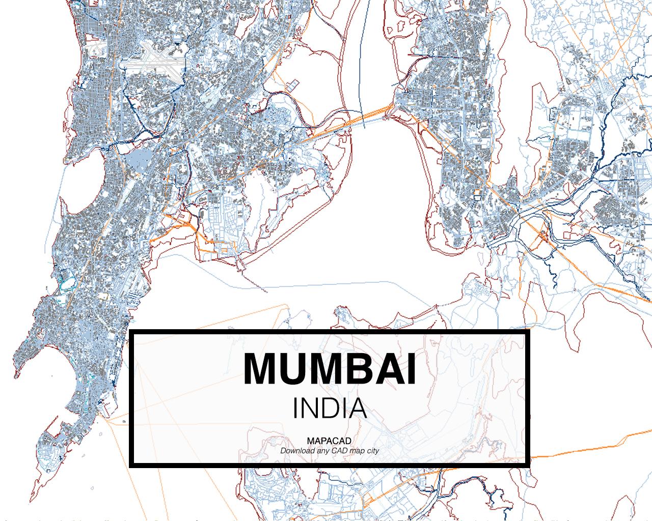 Mumbai On Map Of Asia.Download Mumbai Dwg Mapacad