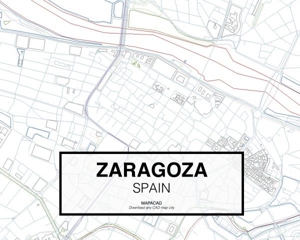 Zaragoza-Spain-03-Mapacad-download-map-cad-dwg-dxf-autocad-free-2d-3d