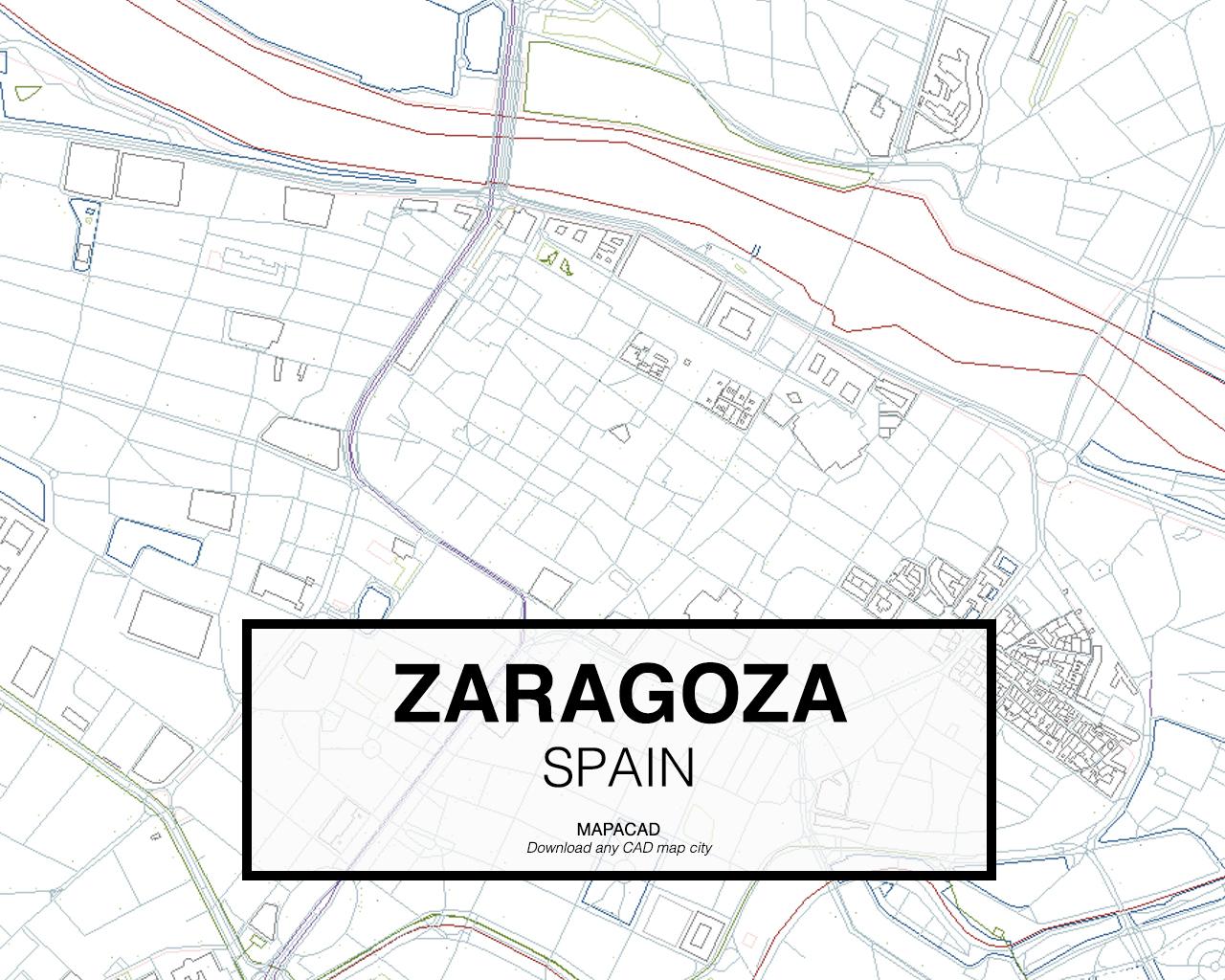 Download Zaragoza DWG - Mapacad on