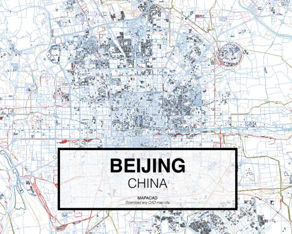 Beijing-China-01-Mapacad-download-map-cad-dwg-dxf-autocad-free-2d-3d
