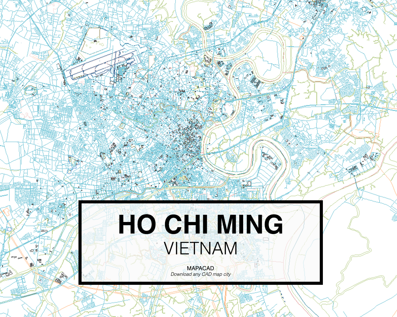 Download Ho Chi Minh DWG - Mapacad