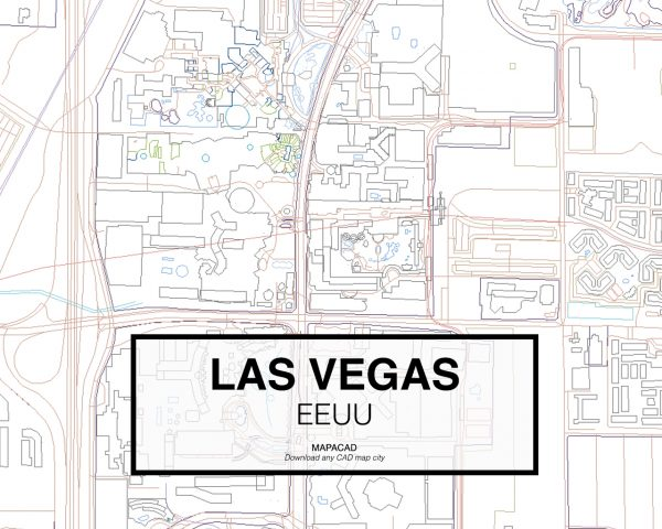 Las-Vegas-EEUU-03-Mapacad-download-map-cad-dwg-dxf-autocad-free-2d-3d