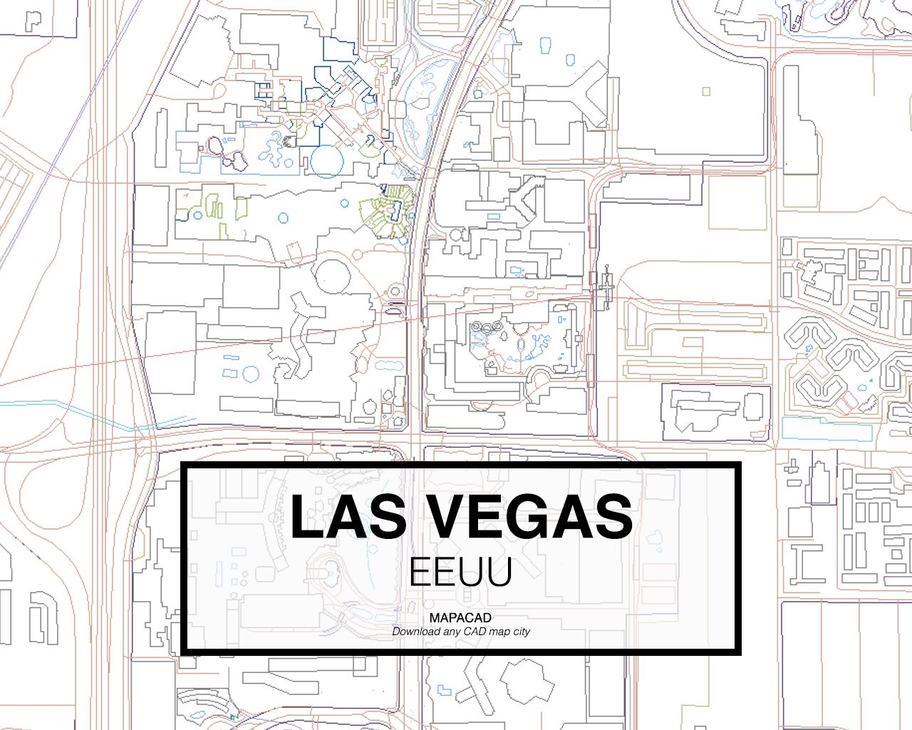 download las vegas map pdf