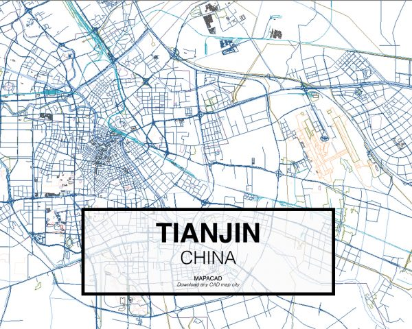 Tianjin-China-02-Mapacad-download-map-cad-dwg-dxf-autocad-free-2d-3d