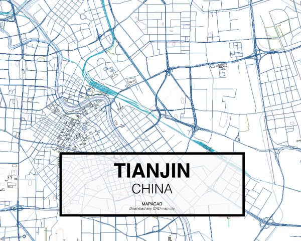 Tianjin-China-03-Mapacad-download-map-cad-dwg-dxf-autocad-free-2d-3d