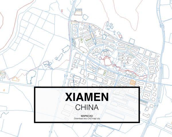 Xiamen-China-03-Mapacad-download-map-cad-dwg-dxf-autocad-free-2d-3d