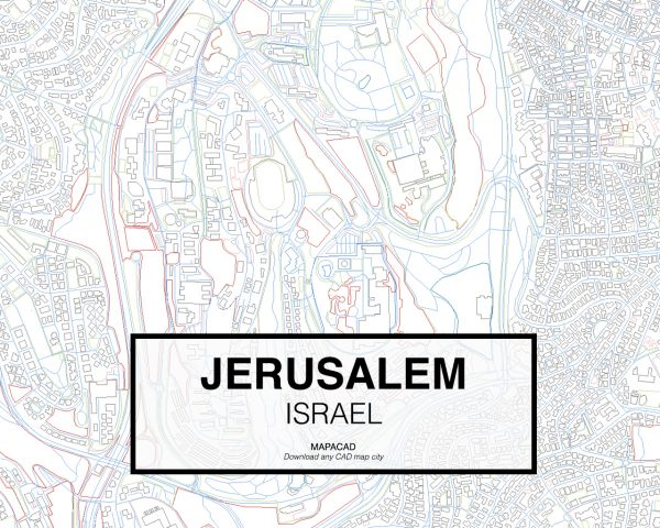 Jerusalem-Israel-03-Mapacad-download-map-cad-dwg-dxf-autocad-free-2d-3d