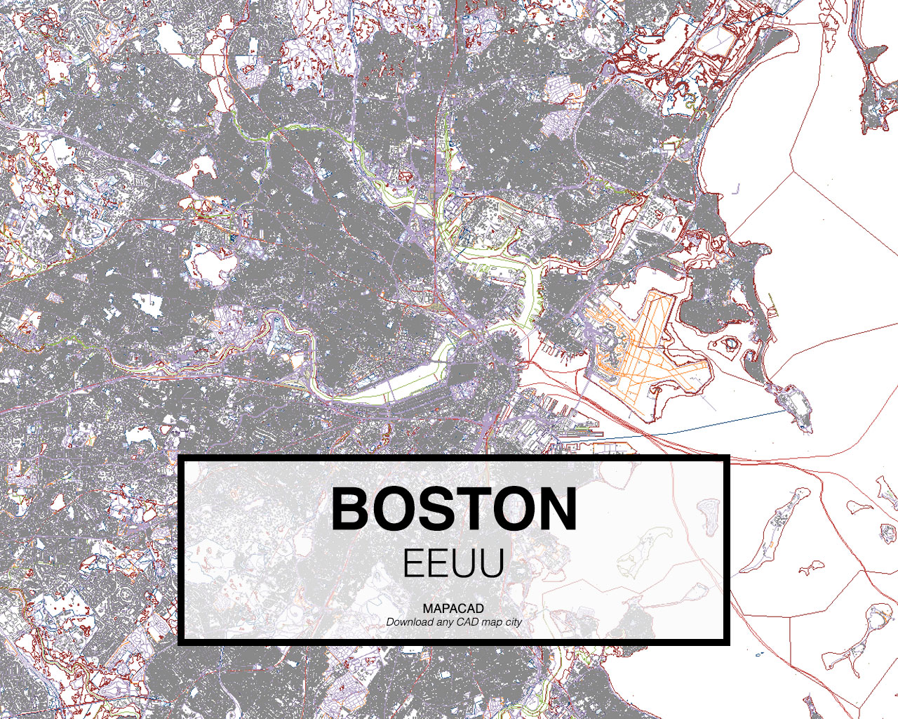 Download boston dwg mapacad boston eeuu 01 mapacad download map cad dwg gumiabroncs Gallery