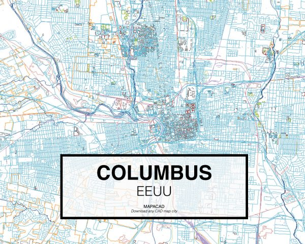 Columbus-EEUU-01-Mapacad-download-map-cad-dwg-dxf-autocad-free-2d-3d