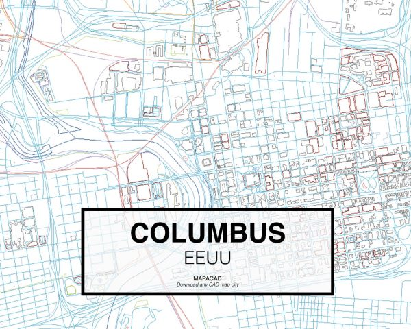 Columbus-EEUU-02-Mapacad-download-map-cad-dwg-dxf-autocad-free-2d-3d