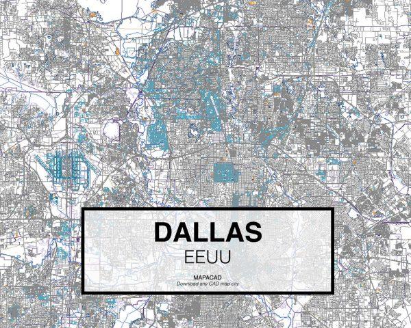 Dallas-EEUU-01-Mapacad-download-map-cad-dwg-dxf-autocad-free-2d-3d
