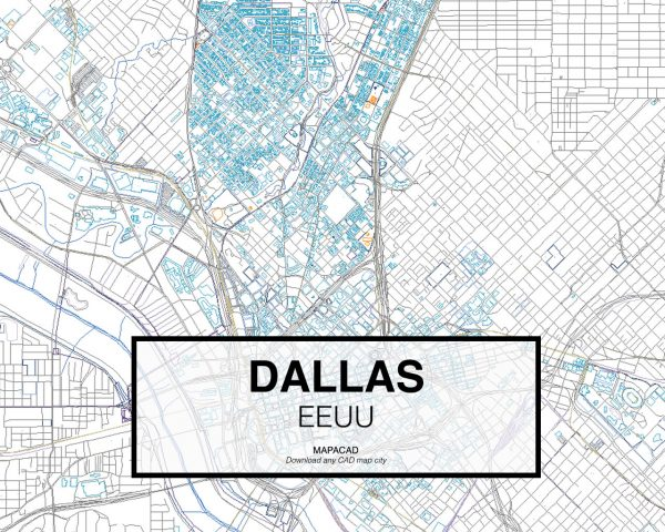 Dallas-EEUU-02-Mapacad-download-map-cad-dwg-dxf-autocad-free-2d-3d