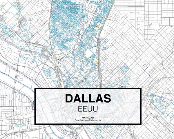 Dallas-EEUU-02-Mapacad-download-map-cad-dwg-dxf-autocad-free-2d-3d
