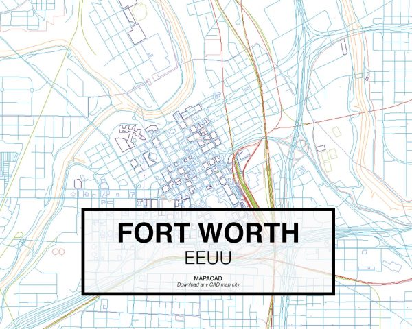 Fort-Worth-EEUU-02-Mapacad-download-map-cad-dwg-dxf-autocad-free-2d-3d
