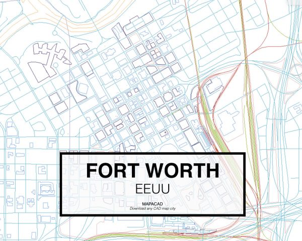Fort-Worth-EEUU-03-Mapacad-download-map-cad-dwg-dxf-autocad-free-2d-3d