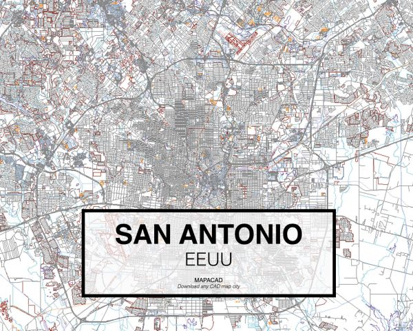 San-Antonio-EEUU-01-Mapacad-download-map-cad-dwg-dxf-autocad-free-2d-3d