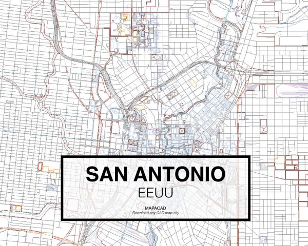 San-Antonio-EEUU-02-Mapacad-download-map-cad-dwg-dxf-autocad-free-2d-3d