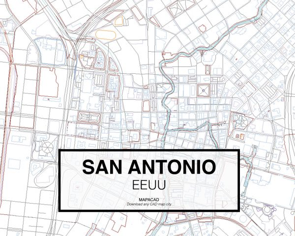 San-Antonio-EEUU-03-Mapacad-download-map-cad-dwg-dxf-autocad-free-2d-3d