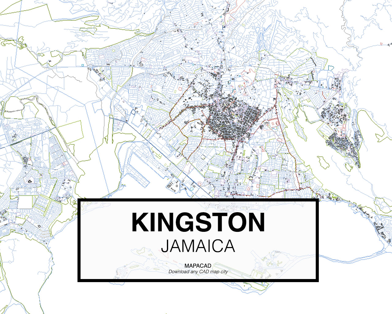 Download kingston dwg mapacad kingston jamaica 01 mapacad download map cad dwg gumiabroncs Image collections